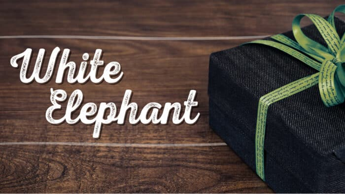 White Elephant Sermon Series