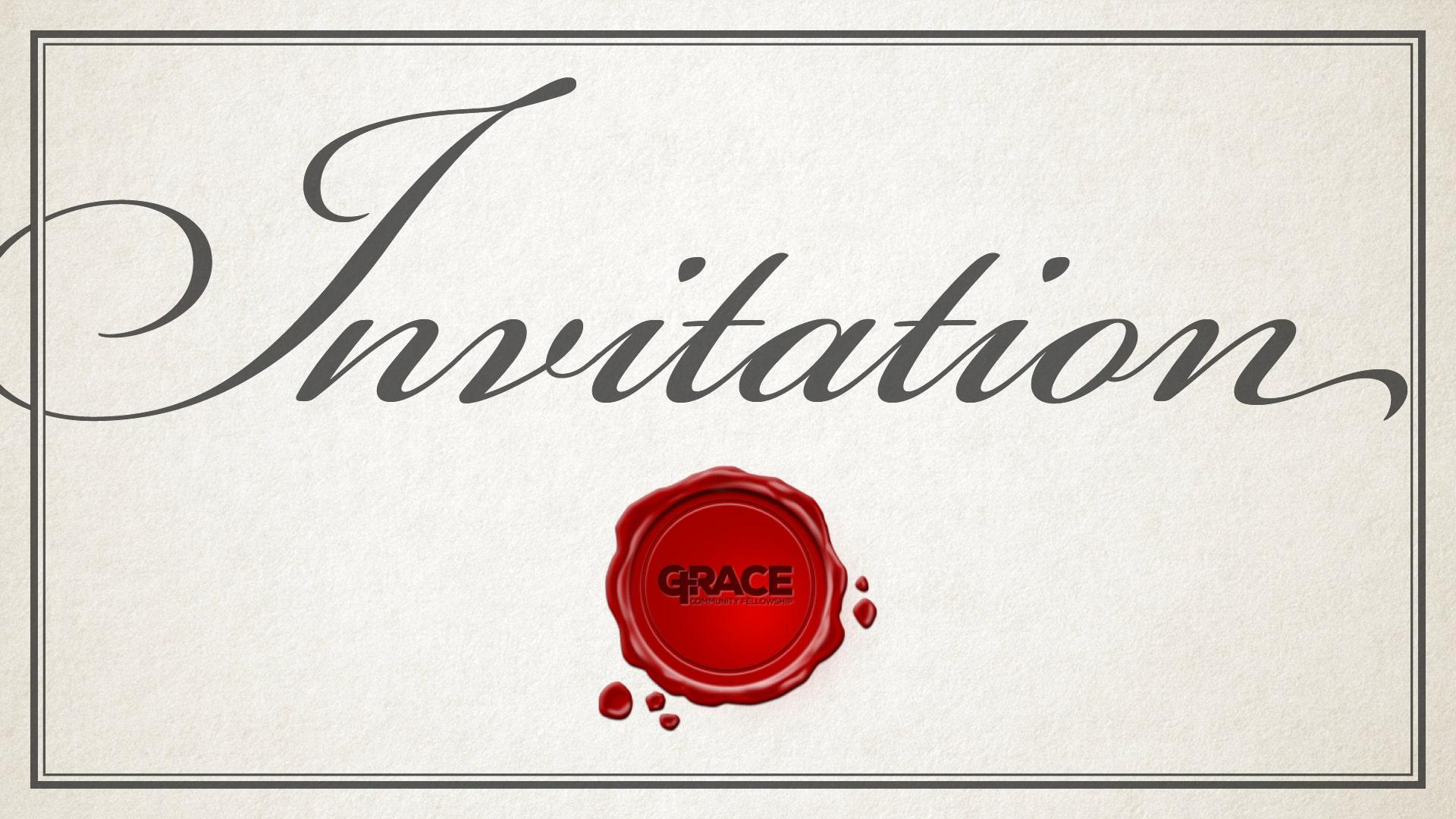 Invitation Sermon Series